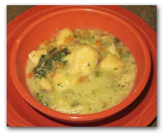 Chicken Dumpling Soup #festfoods | NoMz | Pinterest