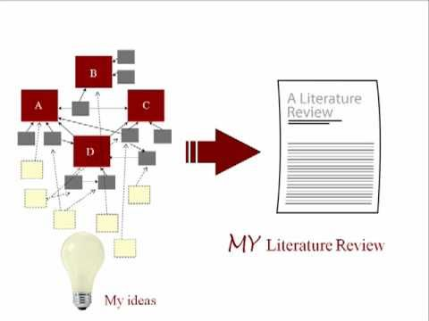 literature review for project reports