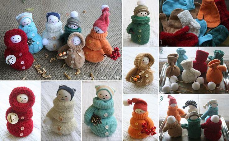 Decoracion Reciclada Navide?a ~ Decoraci?n navide?a reciclada  #CreaNavidad  Pinterest