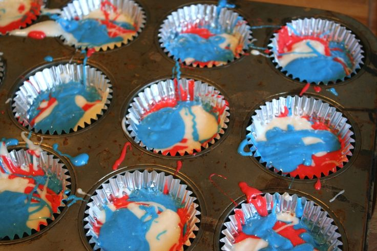 fourth of july cupcake recipes