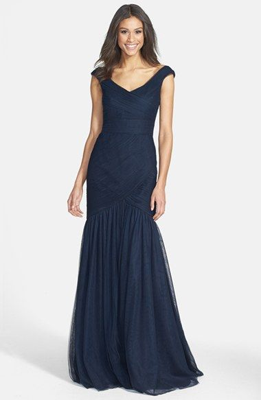So elegant monique lhuillier gown for the mother of the bride