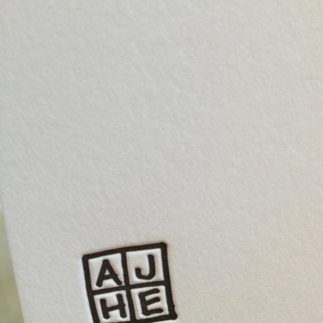 Custom Initials Logo Stationery GRAPHIC I Love Pinterest