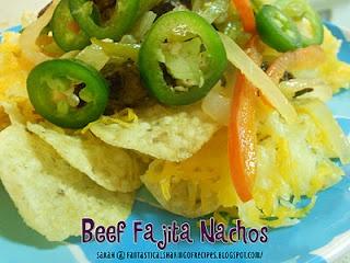 Beef Fajita Nachos | Nachos | Pinterest