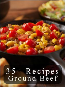35+ Ground Beef Recipe Ideas {Easy Meals}