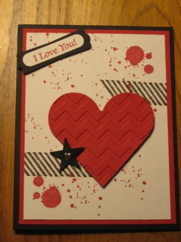valentine cards stampin up pinterest
