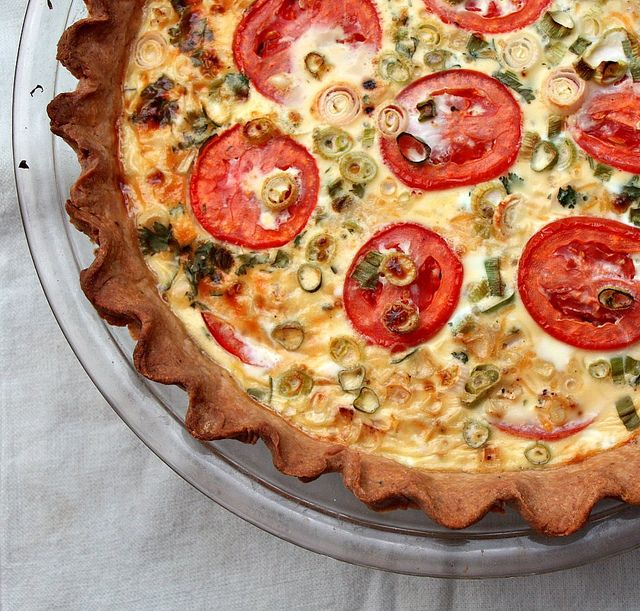 Fresh Corn and Tomato Pie - Sass & Veracity — Sass & Veracity