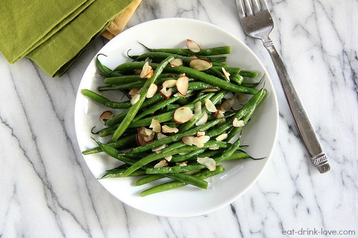 sautéed green beans an simple side dish made with fresh green beans ...