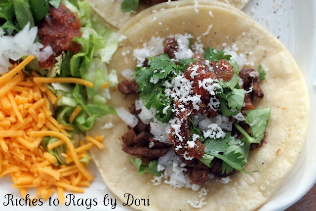 Riches to Rags* by Dori: Carne Asada Tacos