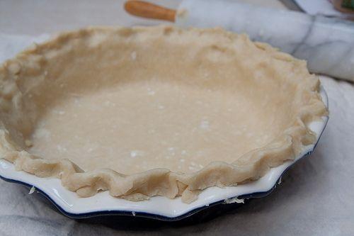 Perfect Pie crust (food processor version)