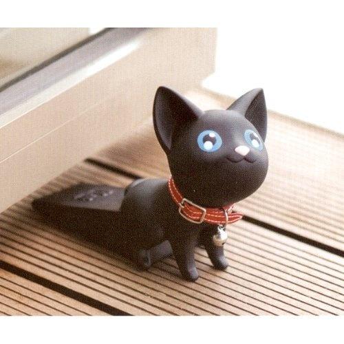 Cat shape door stopper by semk love want pinterest - Cat door stoppers ...