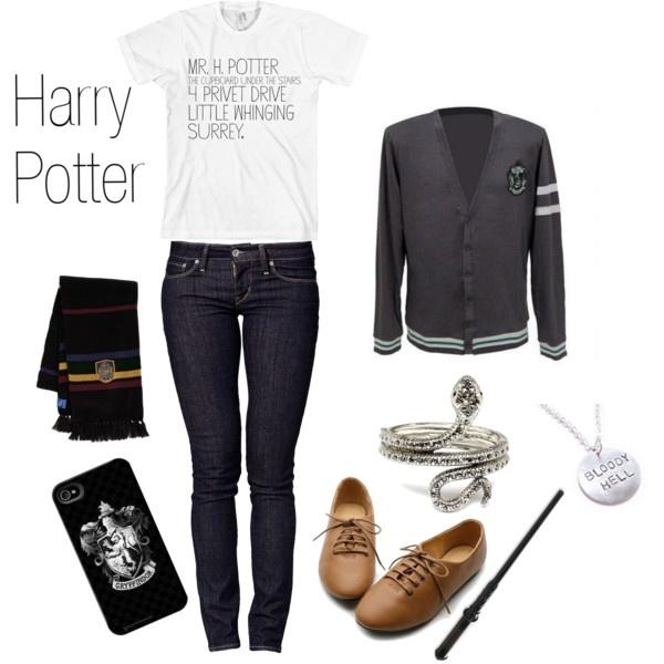 Harry Potter Style. Love.