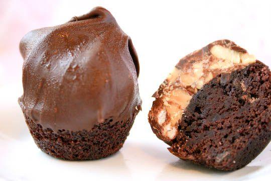 brownie + truffle + chocolate. | sweet | Pinterest