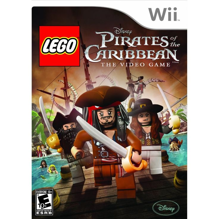 WII-LEGO Pirates of the Caribbean