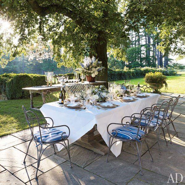 Ralph Lauren's Bedford Dining Terrace