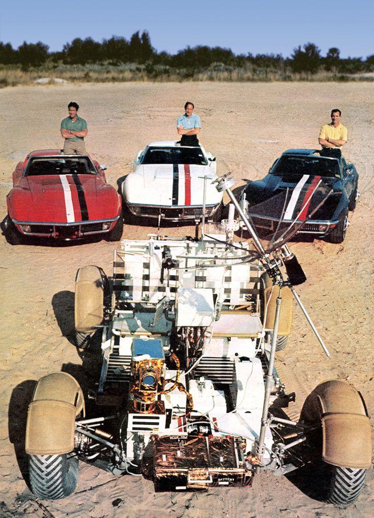 Apollo 15 Corvettes
