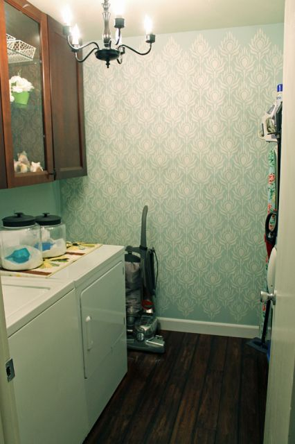 And Amazing Laundry Room Makeover Room Love Pinterest