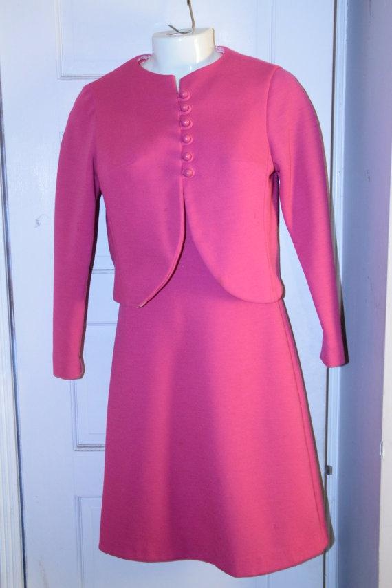 Pin by orangevintage on vintage pink suits jackie o style pintere
