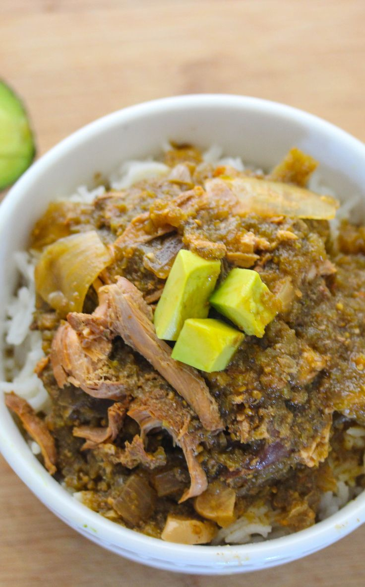 Green chili chicken stew is a nice stew for warm and chili nights ...