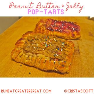 healthy peanut butter amp jelly pop tarts made w quest protein bars