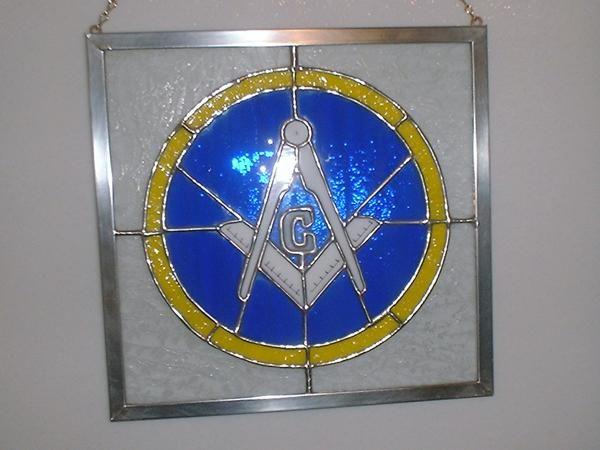 Masonic Lodge  Stained Glass Art  Pinterest