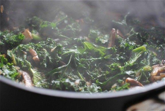 Mushroom and kale stroganoff | Recipes | Pinterest
