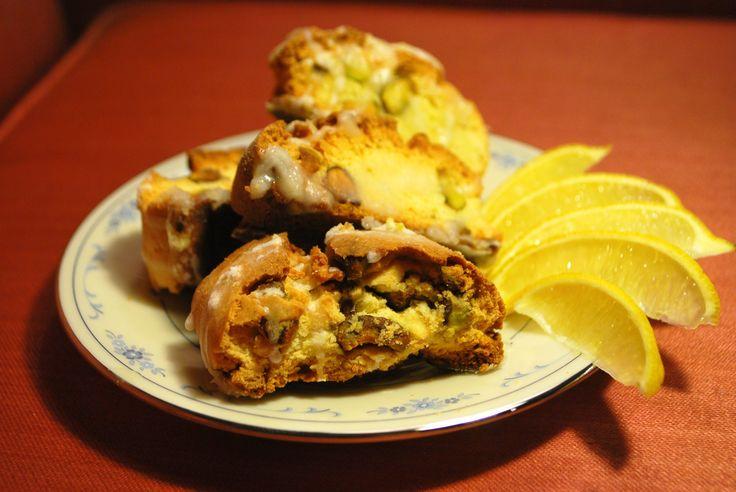 lemon pistachio biscotti | My Actual Pictures | Pinterest