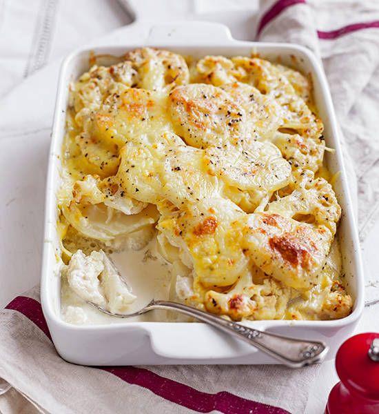 Cauliflower And Potato Bake Vegetables Pinterest