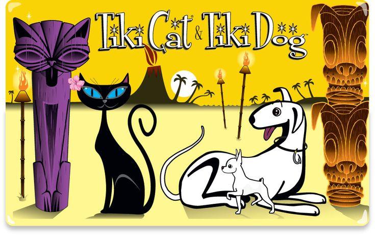 Tiki Cat Amp Tiki Dog My Style Pinboard Pinterest
