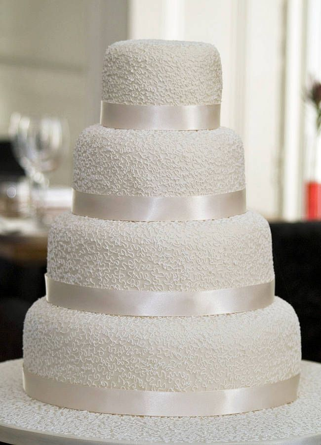 Miss Lacey Four Tier Wedding Cake