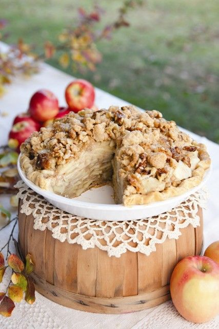 Brandied Caramel Apple Pie