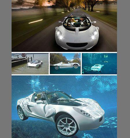 Squba Car Can Cruise Underwater
