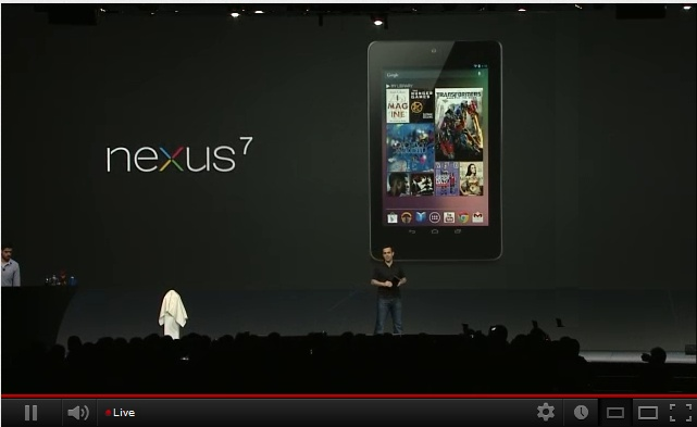 """Watch the recorded version here.  Google IO12 is hyped to be one of the biggest Developer Conferences of the year. You can watch Google iO12 Live right here    Highlights of the event    - Google Unveils Nexus 7, Android 4.1 (Jelly Bean), Google+ Enhancements, Google Glasses, Nexus Cube.    - #JellyBeen OS to support Arabic, Persian, Hindi and Thai #IO12    - Buzzword alert """"social streaming device"""" #io12 #google+    - The Nexus 7 will be the first device to run the latest version of the Android"""
