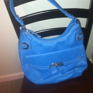 Vibrant Blue Rosetti Handbag