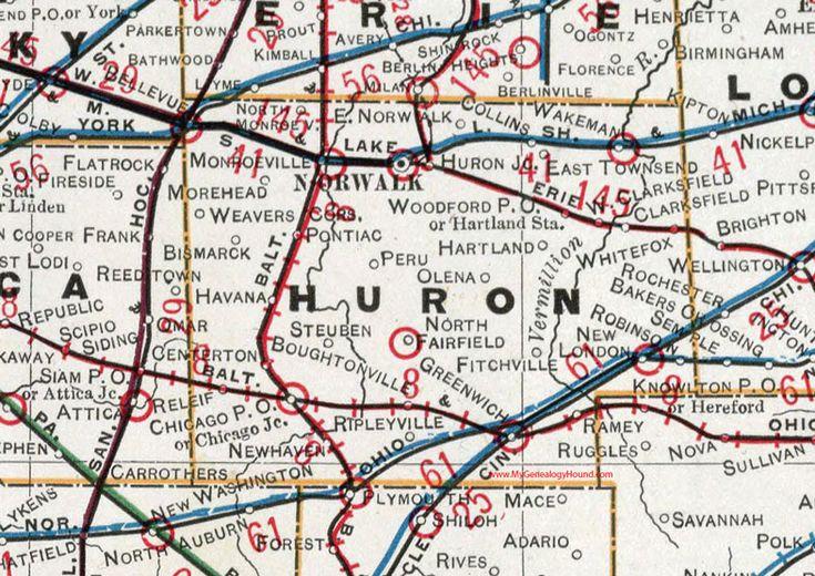 88 Best Historic Ohio County Maps Images On Pinterest