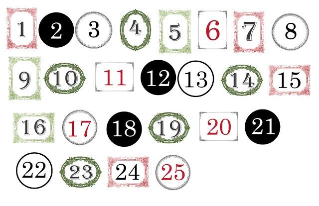 Christmas #Countdown #Numbers   Humor   Pinterest