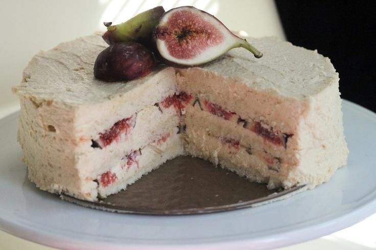 Fig & Honey Mascarpone Cake