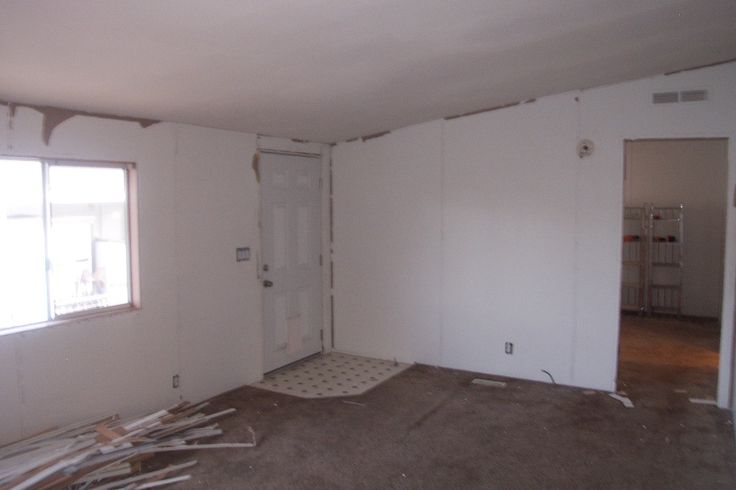 Remodeling Mobile Home Walls Mobile Home DIY Pinterest