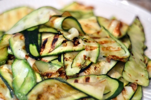 Raw Zucchini Ribbons With Parmesan Recipes — Dishmaps