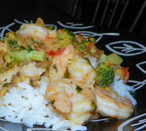Spicy Shrimp in Coconut Sauce. Photo by Baby Kato