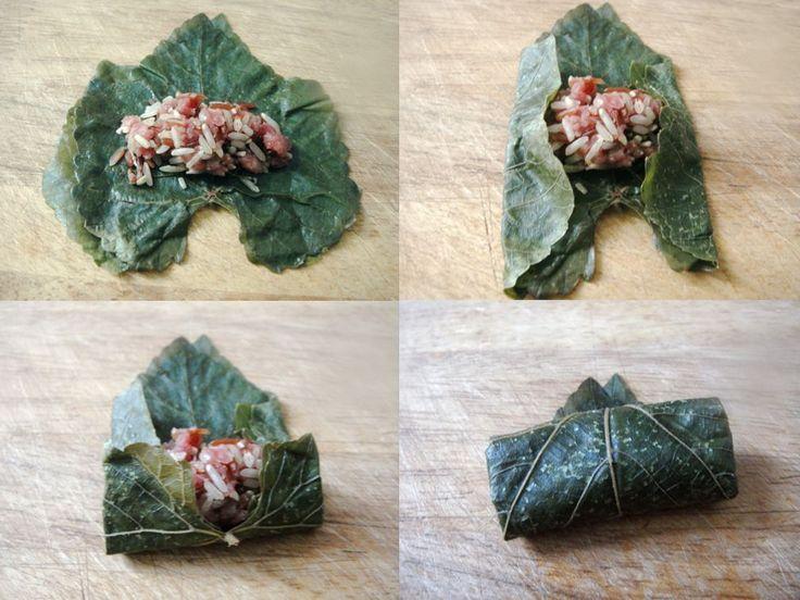 Stuffed Grape Leaves (Dolma / Warak Enab)