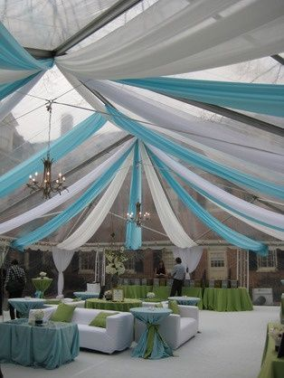 Tent liners are ideal for any party as well as high profile functions