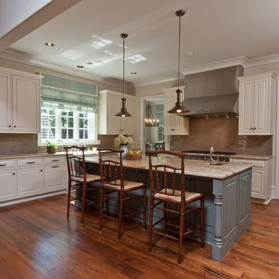 Smallshaped Kitchen Designs on Shaped Kitchen With Island Design Like The       Beautiful Living R