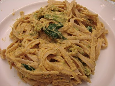 "Pumpkin Fettuccine ""Alfredo"" - vegan | Food | Pinterest"