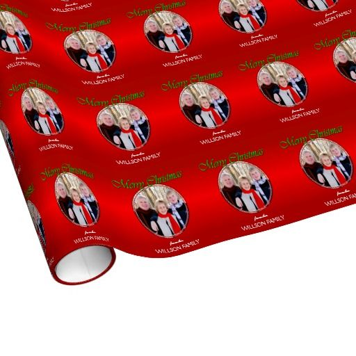 custom photo wrapping paper
