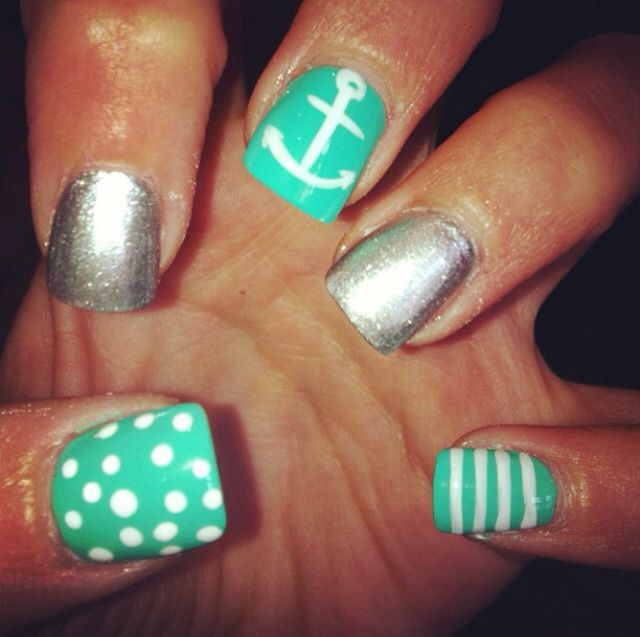 Nail Designs Anchor Nail Art Designs
