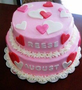 birthday cake love shape Yummy Cake Pinterest