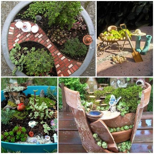 diy fairy garden crafts diy pinterest