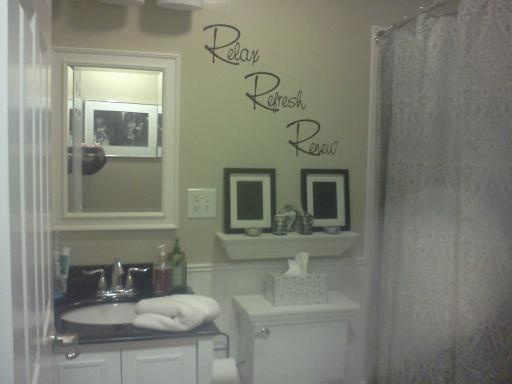 My small bathroom remodel bathrooms pinterest for Redesign my bathroom