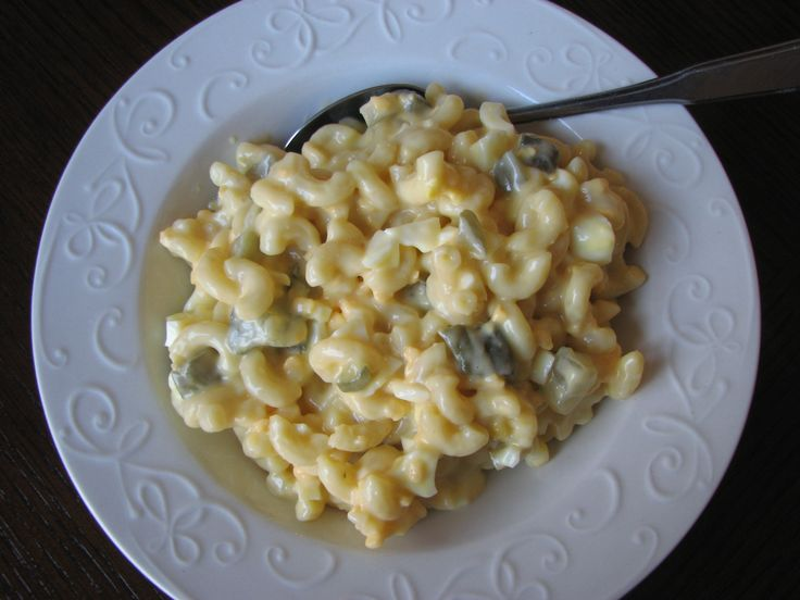 Macaroni Salad that is creamy, sweet, tangy, & so delish! www ...