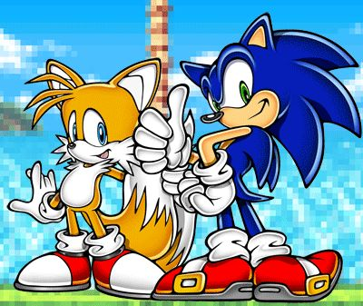 Sonic and tails sonic pinterest